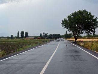 kilometer jalan produksi dibangun untuk Bergama
