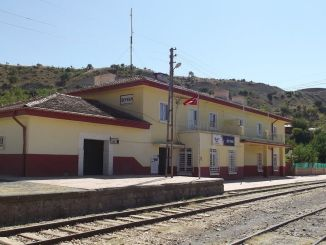 Reinforcement work according to the earthquake resistance of beyhan station building