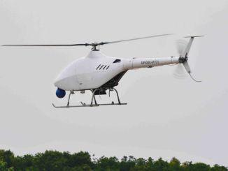 Genie ubemandet helikopter fløj for første gang