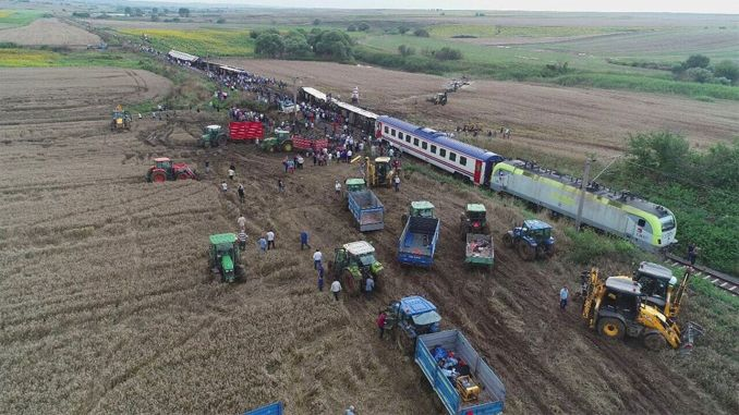 A single step has not been taken in the corlu train accident case for two years