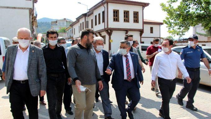 wird Osmaneli Logistikzentrum per Bahnlinie sein