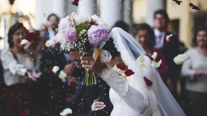 åtgärder som ska tillämpas vid bröllopsceremonier