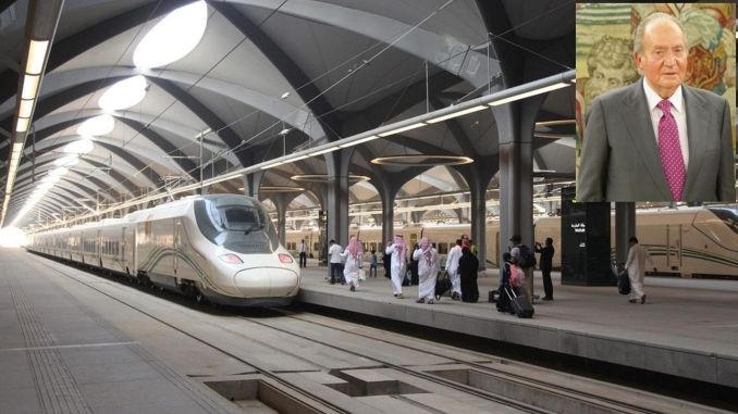 old spain queen carlosa investigating train contract with arabia