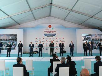 Трећа писта аеродрома у Истанбулу отворена је возом