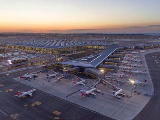 Forholdsregler truffet inden for rammerne af covid i Istanbul lufthavn
