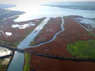 kanalplaner for den nye by, der skal etableres omkring Istanbul