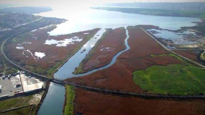 kanalski planovi novog grada da bude uspostavljen oko Istanbula