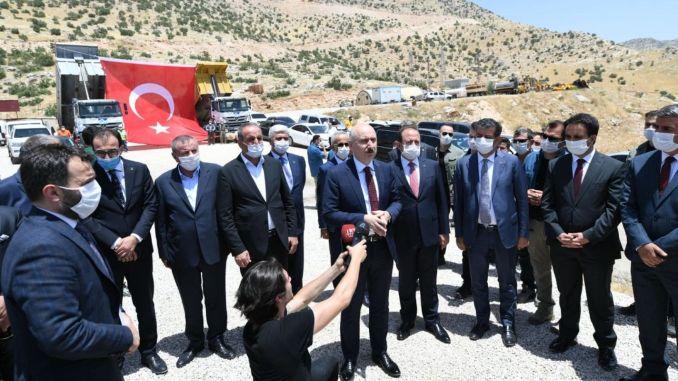cizre sirnak highway study with karaismailog examined