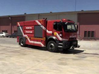 konya buyuksehir municipality will make firefighters