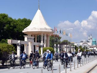 Upper parade will be held for cyclists in Konya.
