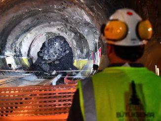 Odstotek podzemne železnice Narlidere je bil končan v postopku koronavirusa.