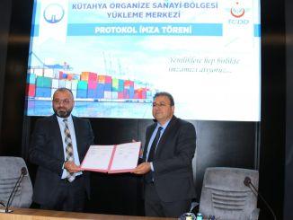 Für das Logistikzentrum Kutahya wurden Unterschriften unterzeichnet