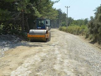 stabilization work is on the way to manavgat gundogmus