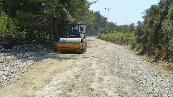 stabilization work is on the way to manavgat gundogmus