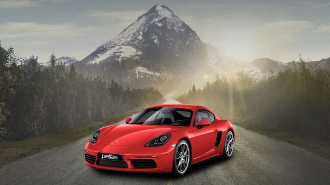 Last chance to have a Porsche in Petlas ad