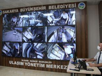 Das Sakarya Transport Control Center ist im Dienst