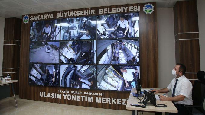 sakarya transportation control center is on duty for citizen satisfaction