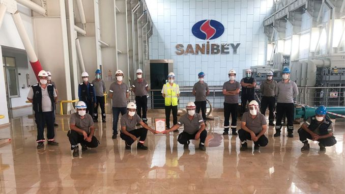 sanibey dam received tse covid secure production certificate