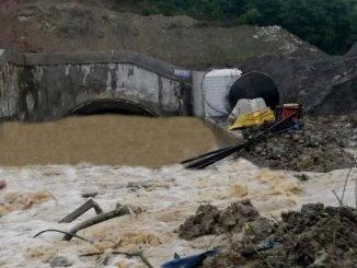 Yht-tunnelen bygget mellem sapanca dogancay oversvømmet