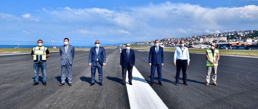 Poleti so se spet začeli na letališču Trabzon