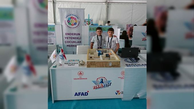 The project, which aims to prevent train accidents, passed on the technofest elimination.