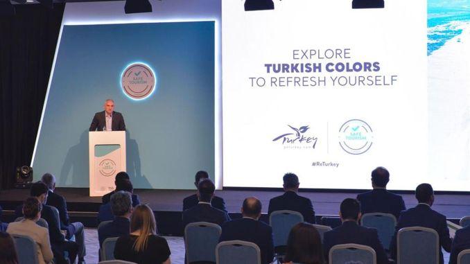international guests in Antalya for safe tourism