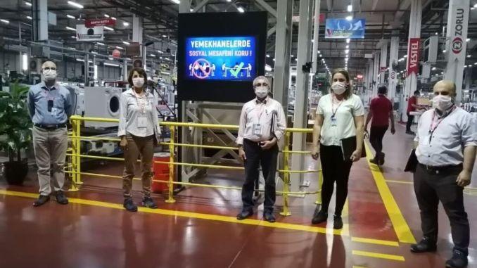 vestel tseden covid received secure production certificate