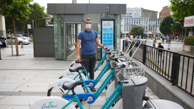 Great interest in Sakbis smart bike practice in the new normal life