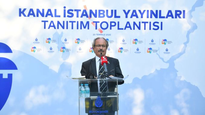 Ibb published the first scientific book about canal istanbul