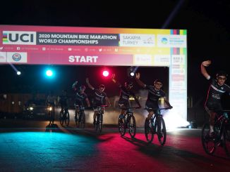 World mountain bike marathon championship launching ceremony was held