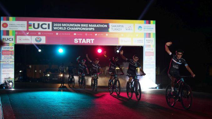 World mountain bike marathon championship launching ceremony was held