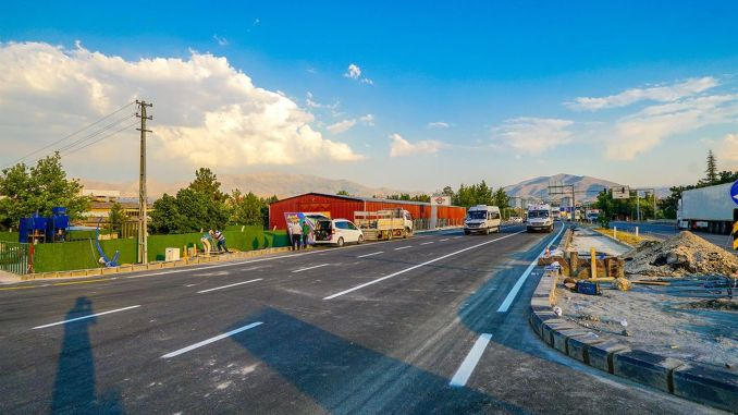 Anayurt Boulevard Opened to Traffic