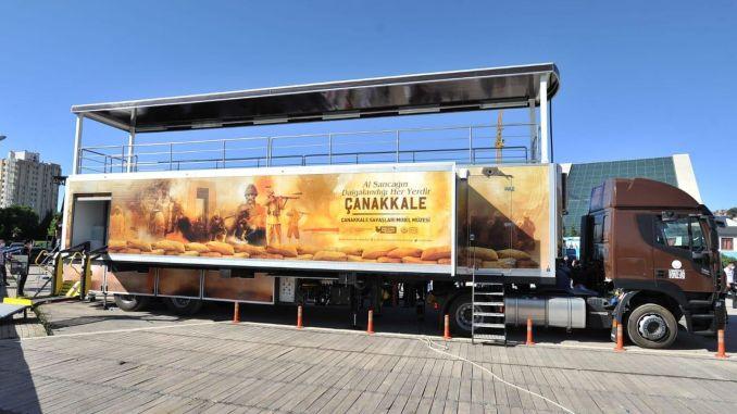 Culture, Art and History of Turkey will roam Truck