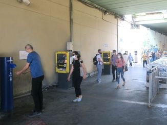 New Disinfection Machines at Metrobus stations