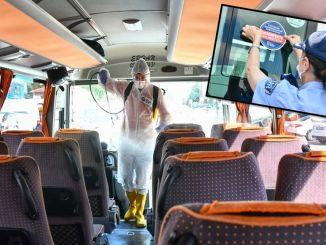 আঙ্কারা জবিটিসি পাবলিক ট্রান্সপোর্ট যানবাহনে স্টিকার অ্যাপ্লিকেশন চালু করেছে