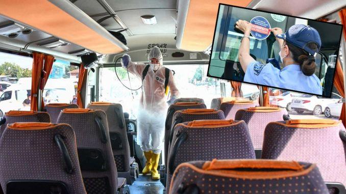 ankara zabitasi launched sticker application in public transportation vehicles