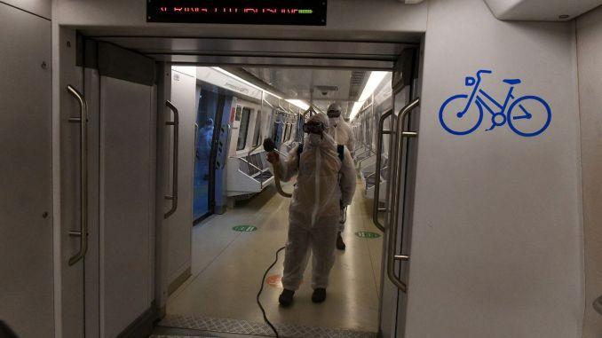 les efforts d'hygiène se poursuivent dans les véhicules de transport public à Ankara