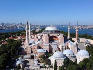 Az első ima Hagia Sophia-ban júliusban kerül megrendezésre