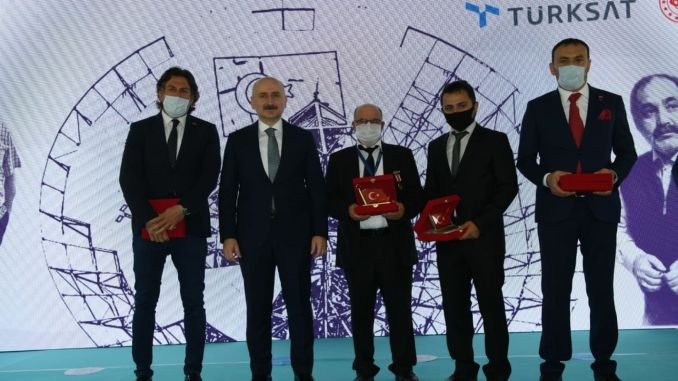 the minister explained the turksat a space will be sent
