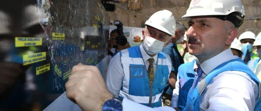 Ministar Karaismailoga, Gebze je također dao datum za hitnost metroa