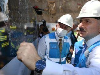 Minister for Karaismailog, Gebze afgav også en dato for nødsituation i metroen