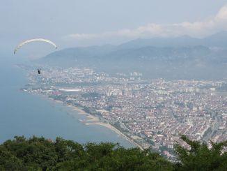 Boztepede yamac paraşütü yenidən başladı