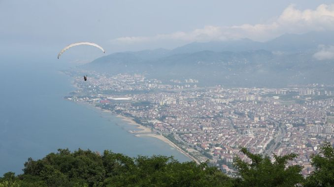 Boztepede Paragliding flights started again