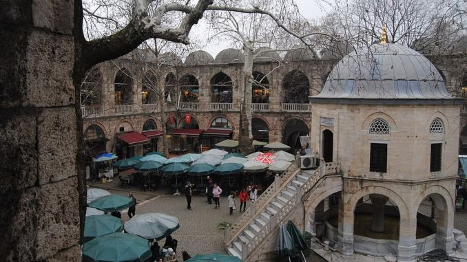 bursa koza han historical and architectural features