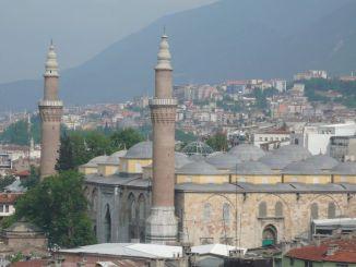 Oko velike džamije bursa