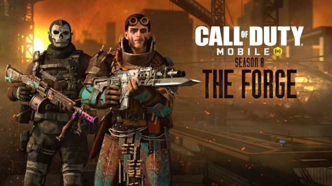 call of duty mobilein season starts the forge