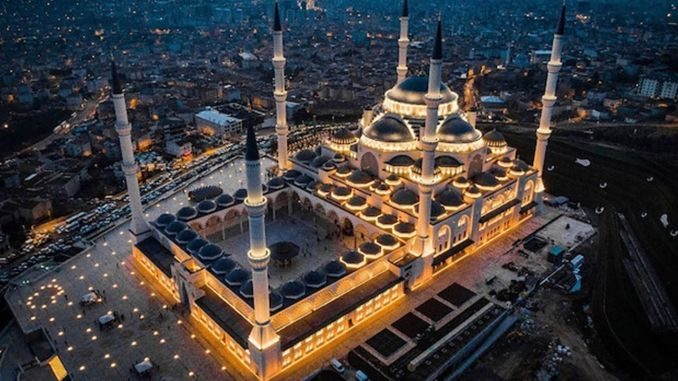 about camlica mosque