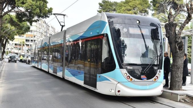 cigli tram line construction work tender result
