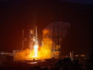 genie launched a new commercial telecommunication satellite