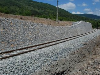 improvement of stone wall and road in the diyarbakir kurtalan line